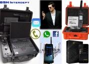 Interceptor de celulares telefonos satelitales celular encriptado