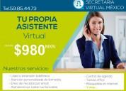 Tu propia asistente virtual desde 980