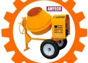 Revolvedora para concreto marca reco rl2000 2 sacos de cap. 500 lt.