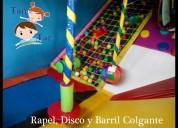 Distribuimos fabricamos instalamos juegos infantiles
