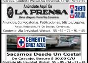 Mudanzas, fletes,   $200.00 por viaje watsat 55-85-74-91-45