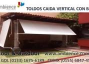 Toldos retráctiles cortinas persianas en tlajomulco de zuniga
