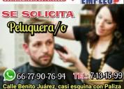 Se solicita estilista/barbero