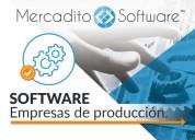 Software control de producción y servicios
