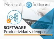 Software para administrar tiempos y actividades