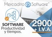 Software productividad y tiempos de despachos