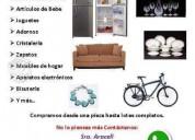 Compro muebles usados