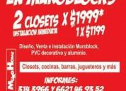 #muroblock #cocinas y #closet