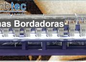 Embtec venta de máquinas bordadoras, computarizadas, corte láser