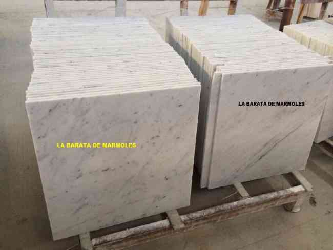 MARMOL ORIGINAL ITALIANO BLANCO DE CARRARA