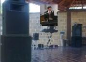 Tecladista cantante para eventos