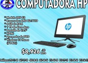 Computadora hp all in one hp 205 g3
