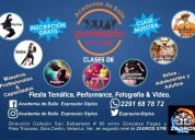 Shows de baile, clases y cursos en academia expresiÓn styles
