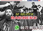 Ofrezco empleo a barbero