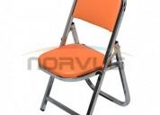 Venta de sillas plegables para niños infantiles acojinadas varios colores