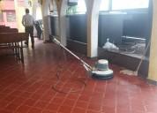 Lavado de piso industrial y comercial