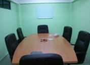 Cei cuenta con oficinas amuebladas por horas o días con excelente personal ejecutivo