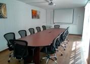 Sala de juntas equipada