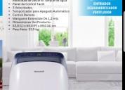 Aire acondicionado portátil hasta: 51m² y deshumidificador