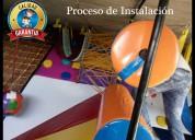 Fabricamos tu área de  juegos para niños a la medida