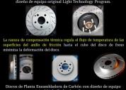 Frenos, discos, sensores y kit de clutch
