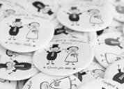 Botones personalizados para eventos y fiestas
