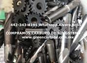 Compra de herramienta de carburo de tungsteno usada por kilo