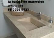 Lavabos personalizados en mármol ónix y granito