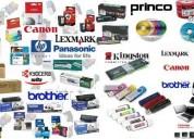 Venta de toner tintas y cartuchos asi como de productos de impresora