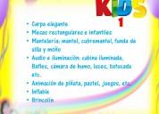 Paquetes fiestas infantiles. en jardín o casa. renta de carpa, decoración, payaso, inflable, audio