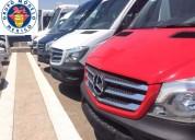 Mercedes sprinter 20 pasajeros 7 unidades