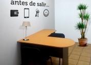 Renta de oficinas amuebladas con servicio integral