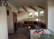Hermosa casa en renta la asuncion,metepec 3 dormitorios 400 m2
