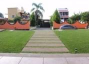 Se vende casa en sta.ma. ahuacatitlÁn por rancho cortés clave cs514 6 dormitorios 800 m2