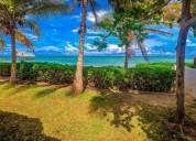 Renta vacacional preciosa casa para 6 personas frente al mar en cancún