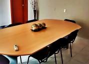 Sala de juntas contamos con un espacio para hasta 8 personas