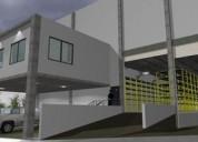 Renta de bodegas nuevas en parque industrial en sta catarina 4400 m2