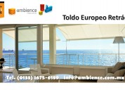 Retractiles toldos europeos cortinas persianas en tlajomulco de zuniga jalisco