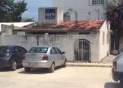 venta de casa, super bien ubicada, en av. palenque cancun 2 dormitorios 100 m2