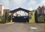 Hcr132-17 - casa en renta san salvador tizatlalli, metepec 3 dormitorios 174 m2