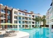 departamento en venta playa del carmen the fives beach 1712, 1722 2 dormitorios