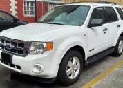 Ford escape 2008 xlt v6 factura original & nac