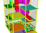 Juegos modulares para salon de fiestas infantiles