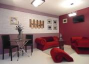 Suite amueblada para renta por semana $8500