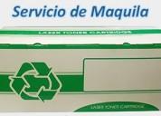 Arma cajas para toner genericos de impresoras ¡¡¡urge !!!