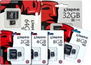 Kingston empaca memorias sd, promociones!!!