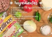 Pega sella recetarios de cocina en productos tia rosa