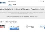 Marketing digital en querétaro, posicionamiento web.