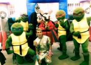 Show de las tortugas ninjas en puebla