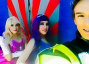 Show de barbie princesa y estrella de pop en puebla